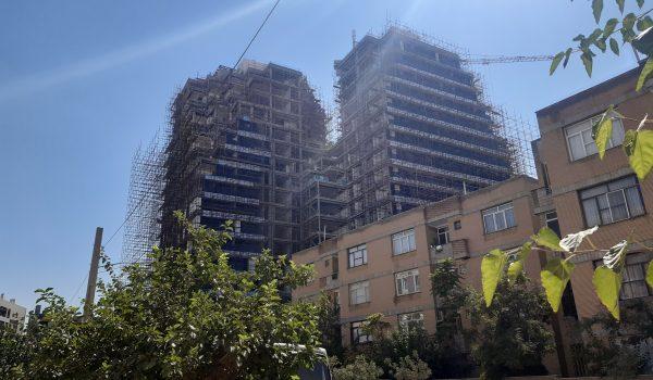 پروژه برج دو قلو خ نیلوفر