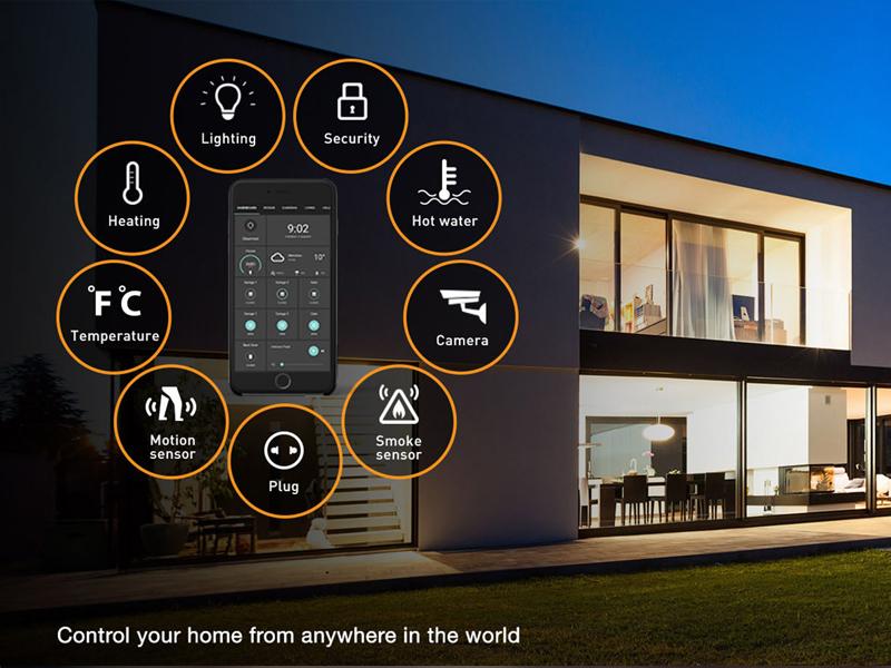 قابلیت کنترل خانه هوشمند از هر جای دنیا