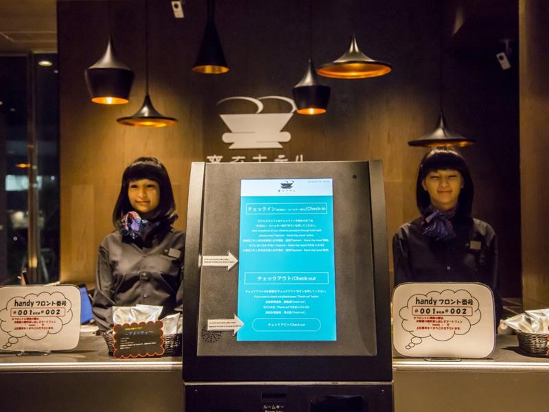 هتل هوشمند هن-نا توکیو (Henn-Na Hotel Tokyo): چشم بادامیها در راه تکنولوژی هوشمند سازی هتل