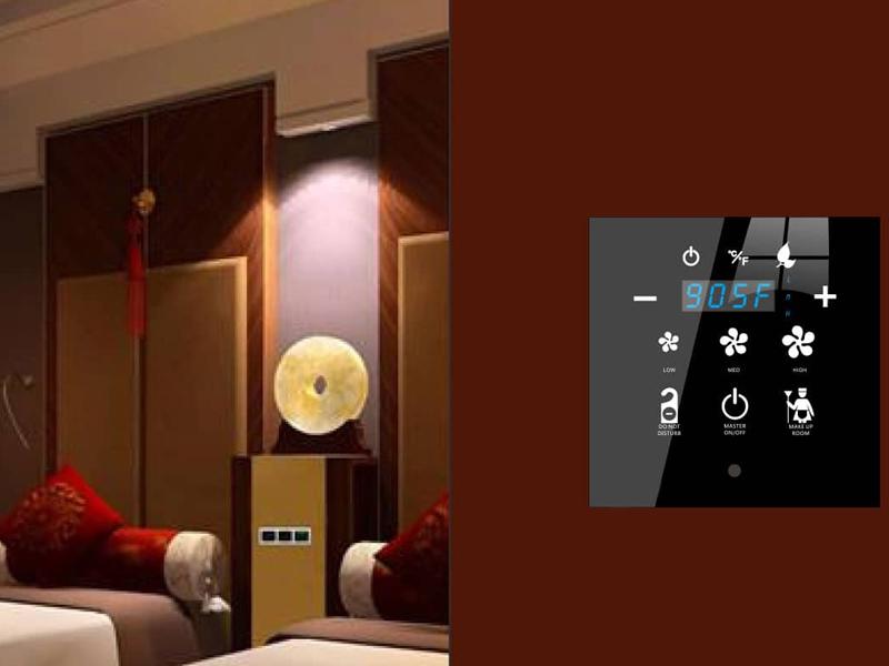 امکانات رفاهی یک اتاق هوشمند در یک هتل هوشمند