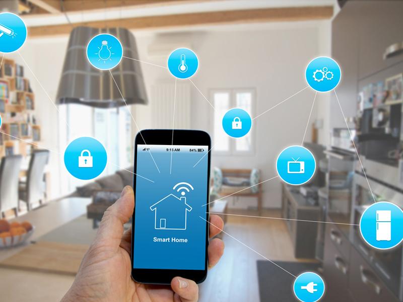 اجزای خانه هوشمند: 2. اپلیکیشن کنترل از راه دور