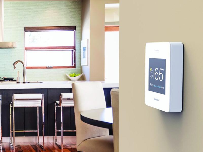 تاچ پنلهای خانه هوشمند اشنایدر