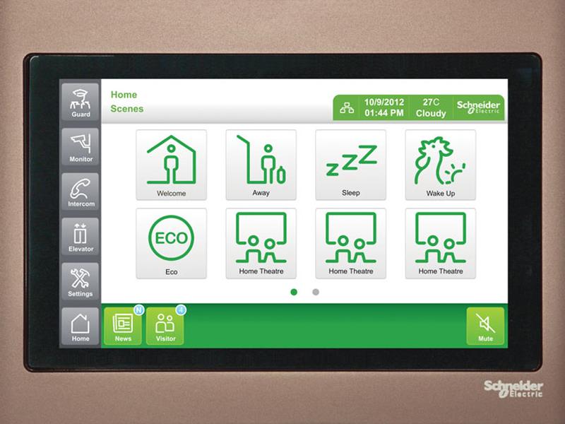 ورودیهای دیجیتال و آنالوگ ساختمان هوشمند اشنایدر