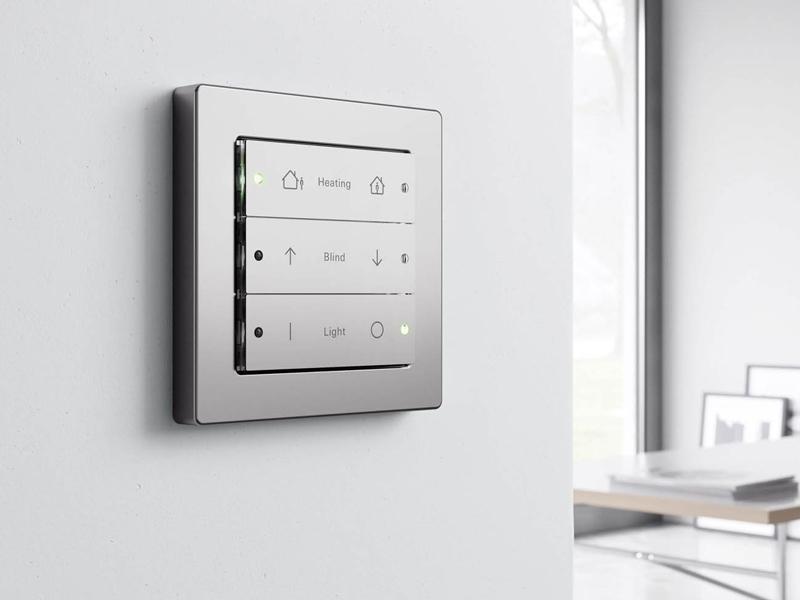 دکمه فشاریهای خانه هوشمند اشنایدر